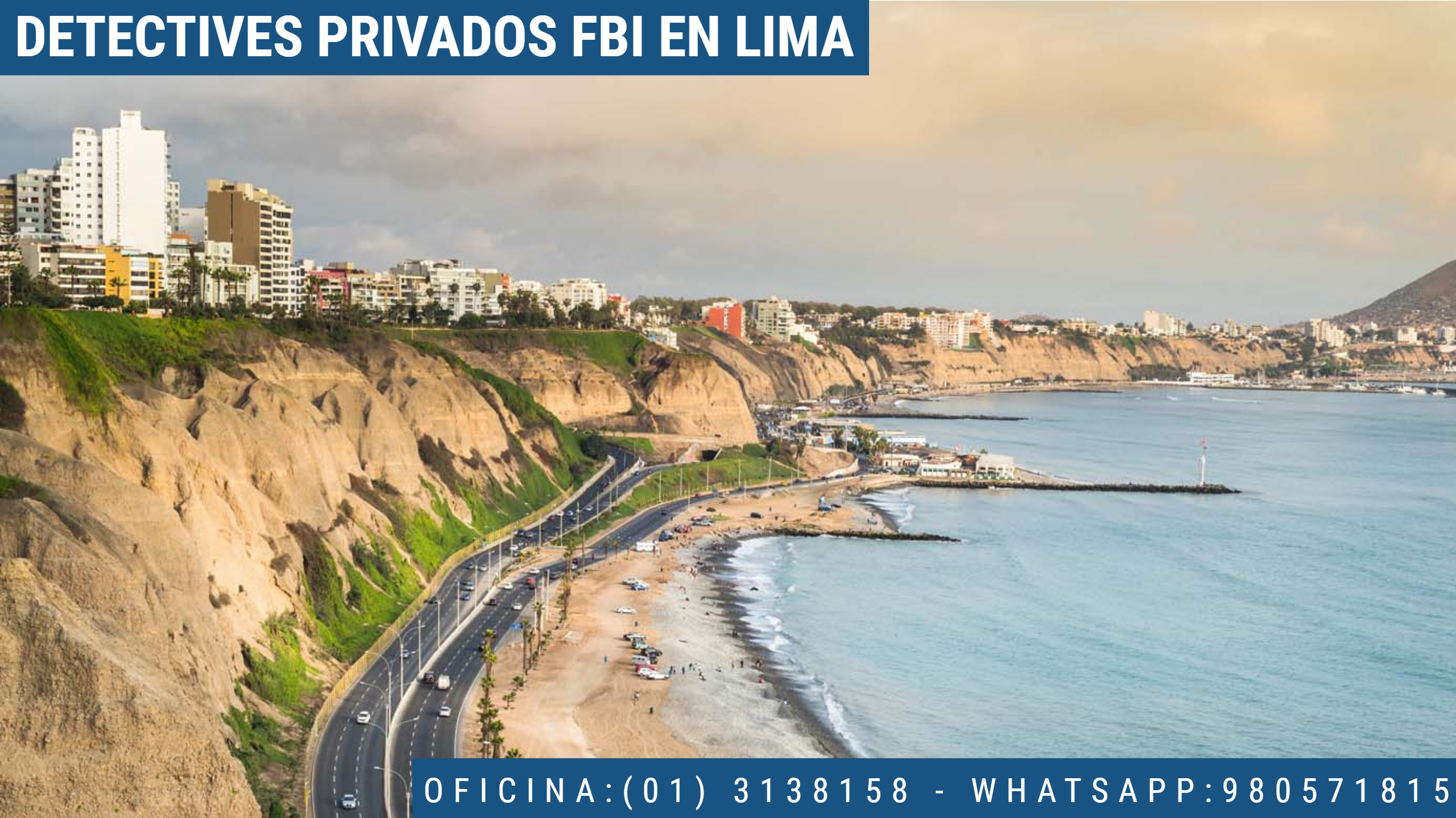 INVESTIGACIÓN PRIVADA FBI EN LIMA - PERU