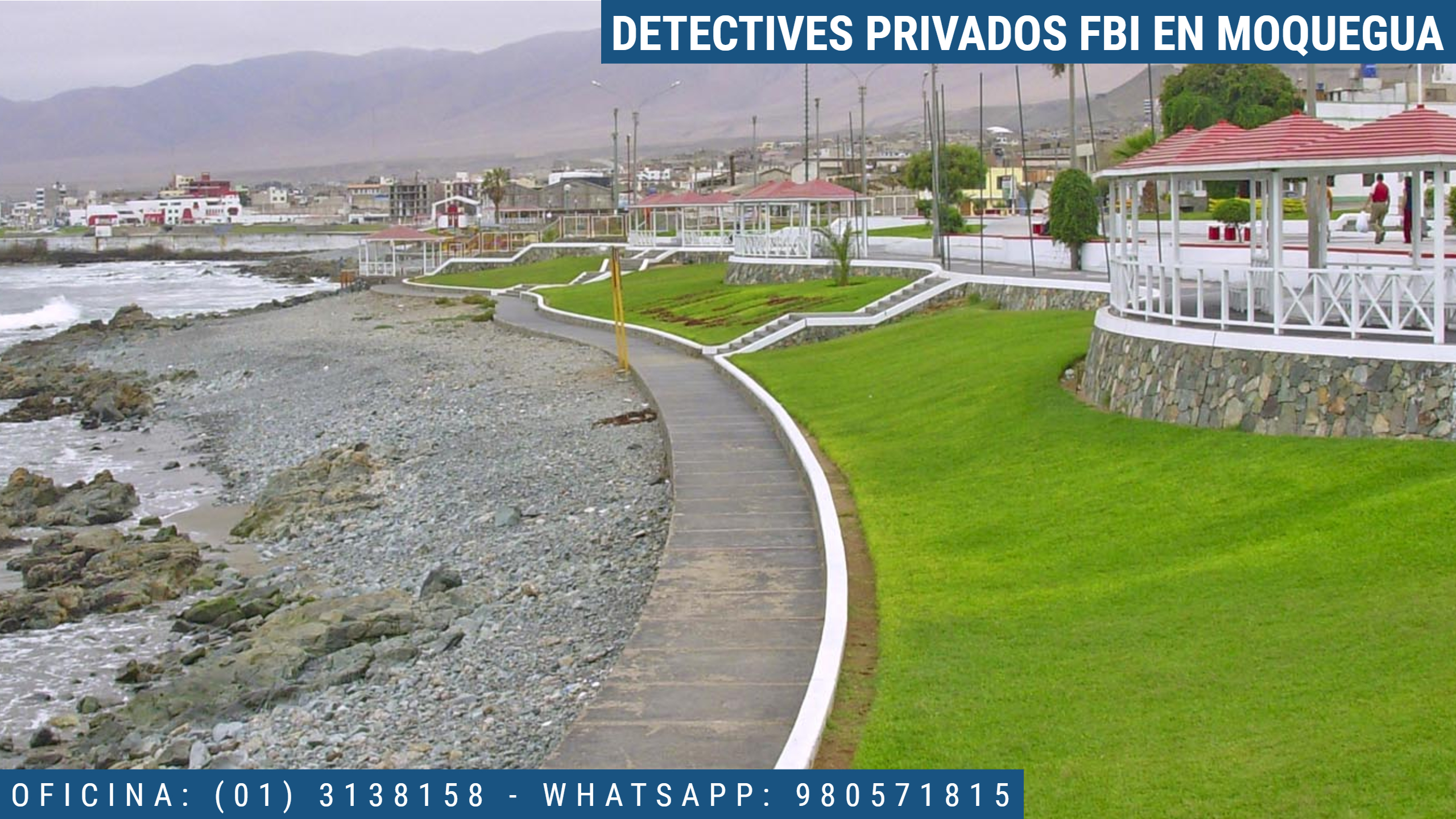 INVESTIGACIÓN PRIVADA FBI EN MOQUEGUA - PERU
