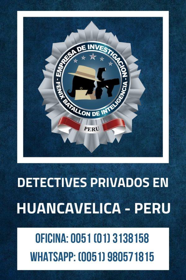 INVESTIGACIÓN PRIVADA FBI EN HUANCAVELICA - PERU